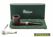 NEW Peterson Donegal Rocky Straight Briar Pipe 120 Fishtail (Free Pipe Tool)