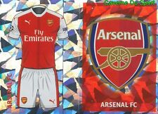 ARL1 CLUB LOGO - HOME KIT ARSENAL.FC STICKER CHAMPIONS LEAGUE 2017 TOPPS