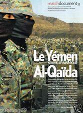 Coupure de Presse Clipping 2010 (4 pages) Yémen Nouvelle base pour Al Qaida