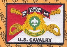 2nd ACR Armored Cavalry Regt BORDER LEGION pocket patch