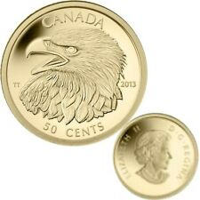 2013 Canada 50-cent 1/25th oz. Gold Coin - Bald Eagle