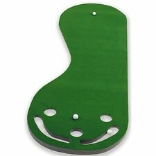 Par 3 Holes Practice Putting Green Indoor Golf Mat Training Aid Equipment