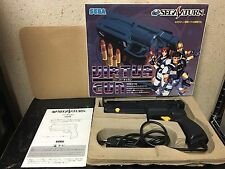 Virtua Gun Sega Saturn Japan boxed set Namco