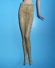 FAB GOLD PANTYHOSE*TIGHTS*MOD STYLE*CLASSIC*FOR BARBIE*SILKSTONE*FR