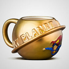 Superman - Täglich Planet 3D Form Keramik Becher - NEU