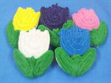 HOME MADE ICED TULIP EASTER  SUGAR COOKIES by NEEDFULL THINGS