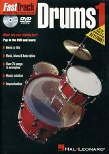 Fast Track Music Instruction: Drums 1 (2012, DVD NIEUW)