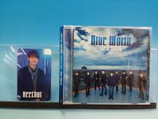CD+DVD SUPER JUNIOR BLUE WORLD JAPAN First Limited Photo card Heechul