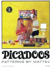 Mattel PDF Copy of Thingmaker Picadoos Manual / Instructions - JPEGS You Print