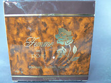 Femme de Rose Perfumed Dusting Powder Concept II Made in USA 5 oz. (le)