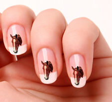 20 Nail Art Decals Transfers Stickers #116 -  Horse peel & stick