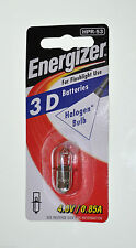 Energizer HPR-53 Halogen Bulb 4v Volt 3D Battery Torch Maglite Flashlight 0.85a