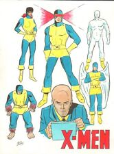 X-Men Color Commission - Signed art by Dick Ayers