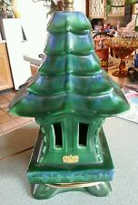Vintage DECO MID-CENTURY Modern ROYAL HAEGER HICKMAN Pagoda Pottery Lamp