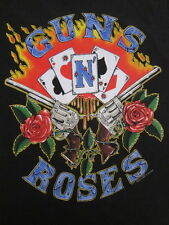 Vintage Guns N' Roses t-shirt 1991 Use Your Illusion tour rock metal 90's L/XL