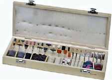 228 piece Rotary Tool Accessories Set with Wooden Storage Box