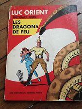 les dragons de feu EO 1969 luc orient du journal tintin côte BDM : 100e