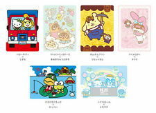 NEW Amiibo Card Animal Crossing x Sanrio Limited All 6 Stickers Japan F/S