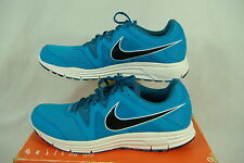 "New Womens 11.5 NIKE ""LunarFly 3"" Blue White Dynamic Support Run Shoes $85"