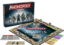 ASSASSIN'S CREED MONOPOLY MONOPOLI UNITY EZIO AUDITORE ARNO DORIAN TABLE GAME #1