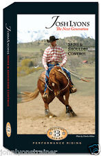 Josh Lyons Spins & Shoulder Control, reining DVD for sale by John Lyons Trainer