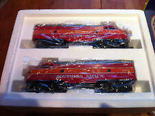 SOUTHERN PACIFIC O GAUGE F7 A-A DIESEL ENGINES 4307 BY WILLIAMS TRAINS