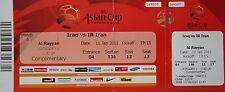 TICKET AFC Asian Cup Qatar 2011 Irak - Iran Match 8