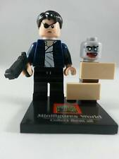 CUSTOM MINIFIGURES THE GOVERNOR THE WALKING DEAD ZOMBIES PLUS GENUINE LEGO