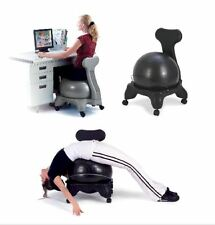 New GAIAM Ball Chair Fitness Exercise Workout Yoga Office Gym Back Pain Relief