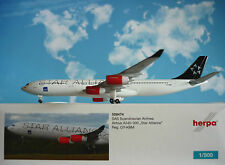 Herpa Wings 1:500 Airbus A340-300 SAS Star Alliance OY-KBM  528474