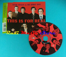 CD Singolo David Devant And His Spirit Wife This Is For Real CD 1 KIND 5CD(S21)
