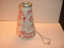 1960's NFL Go with the Pros 15 Team Logos Megaphone #3