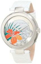 Versace Women's I9Q99D1HI S001 Mystique Stainless Steel white Leather Watch