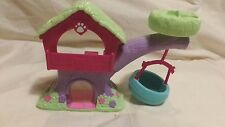 Littlest Pet Shop LPS Tree House Playset with Blue Tire Swing