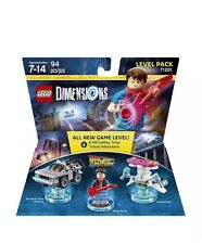 Lego Dimensions Back To The Future 71201 Sealed New Mcfly Bttf