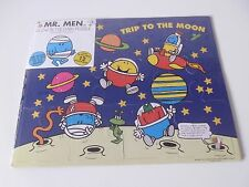 MR BUMP TRIP TO THE MOON JIGSAW PUZZLE,GLOW IN THE DARK.