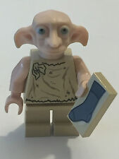 *NEW* Lego Minifig Harry Potter DOBBY 4736 House Elf with SOCK TILE