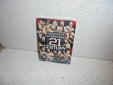 WWE : Greatest Stars of the 21st Century 3 Disc DVD SEALED