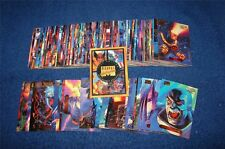 100 card lot from 1994 Marvel Masterpieces Gold Foil Signature from Parallel Set