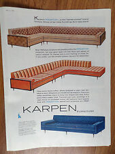 1960 Karpen Furniture Ad  The Perception Collection