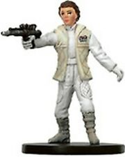 Princess Leia, Hoth Commander R Star Wars Miniatures Bounty Hunters  09/60