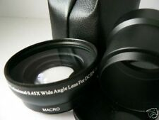 KAW BK 52mm 0.45X Wide-Angle Lens + Adapter Tube For Nikon Coolpix P7000 Camera