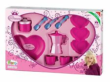 Kitchen Pretend Play Faro Princess Coffee Jug Cooking Utencils Age 3+ Toy Girls