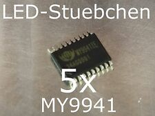 5x MY9941 LED-Treiber IC (RGBW, KSQ, incl. DMX auto-address, High-Power LED)