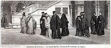 Venezia,Serenissima Repubblica: il Consiglio dei Dieci.Venice.Stampa Antica.1861