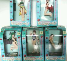 Capcom Summer Paradise figures Morrigan Lilith Chun Li Cammy Sakura set of 5