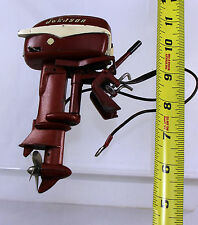 K & O Johnson Sea Horse 30  HP toy outboard motor - Red
