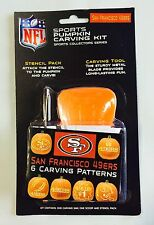 San Francisco 49ers Halloween Pumpkin Carving Kit New Stencils for Jack-o-latern