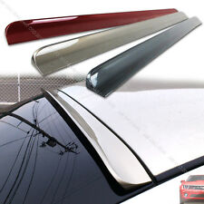 Painted FOR Volvo S40 2nd Rear Window Roof Spoiler Wing 2004-2007 4DR Sedan§
