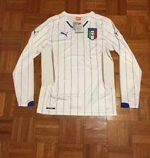 New w/ Tags Italy National Soccer Team FIFA Adult Large White Puma Jersey